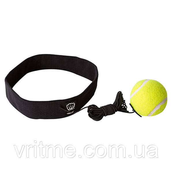 Тренажер для бокса повязка на голову с мячиком Boxing Ball
