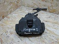 Суппорт тормозной передный левый з колодками рено меган 2 Renault Megane 2, фото 1