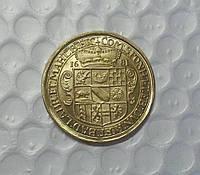 10 золотых дукатов 1681 года Фридрих №220 копия