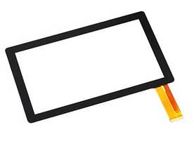 """Оригинальный Сенсор (Тачскрин) для планшета 7"""" Irulu X1781   X1782   X1783   X1784 30pin(186x111mm)(Черный)"""