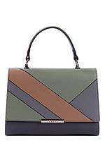 Ділова жіноча шкіряна сумка в 3х кольорах L-191202