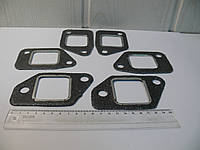 Прокладка коллектора выпускного ЗИЛ 6шт (комплект), фото 1