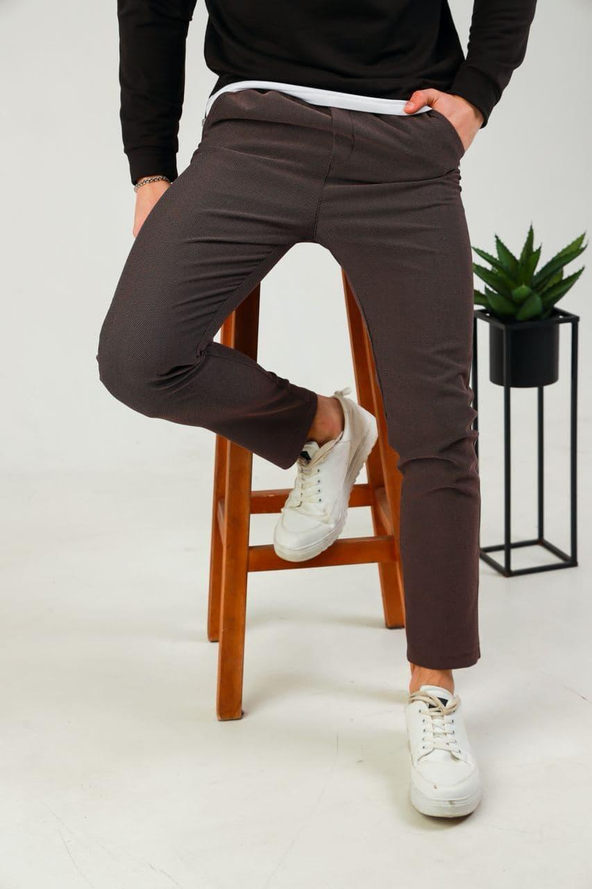 Мужские повседневные штаны брюки