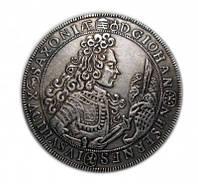 Серебряный талер 1712 года Саксония ASOLE SAL копия №223 копия