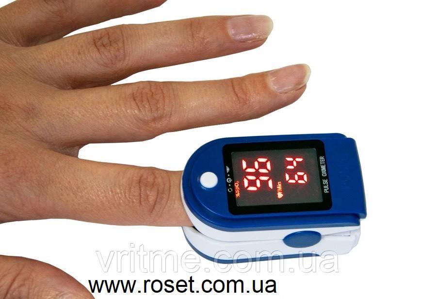 Портативний пульсоксиметр Pulse Oximeter JZK-302
