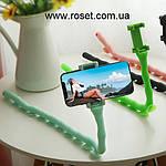 Гибкий держатель для телефона с присосками Cute Worm Lazy Holder