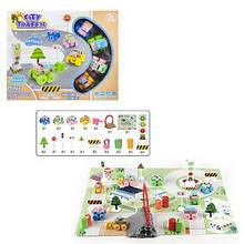 """Игровой коврик """"City Traffic"""", вид 1 RT001-3"""