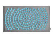 Коврик акупунктурный IGORA MAT 80х45 (серый лен), фото 3
