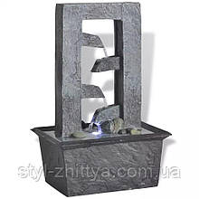 Кімнатний, декоративний фонтан з підсвіткою