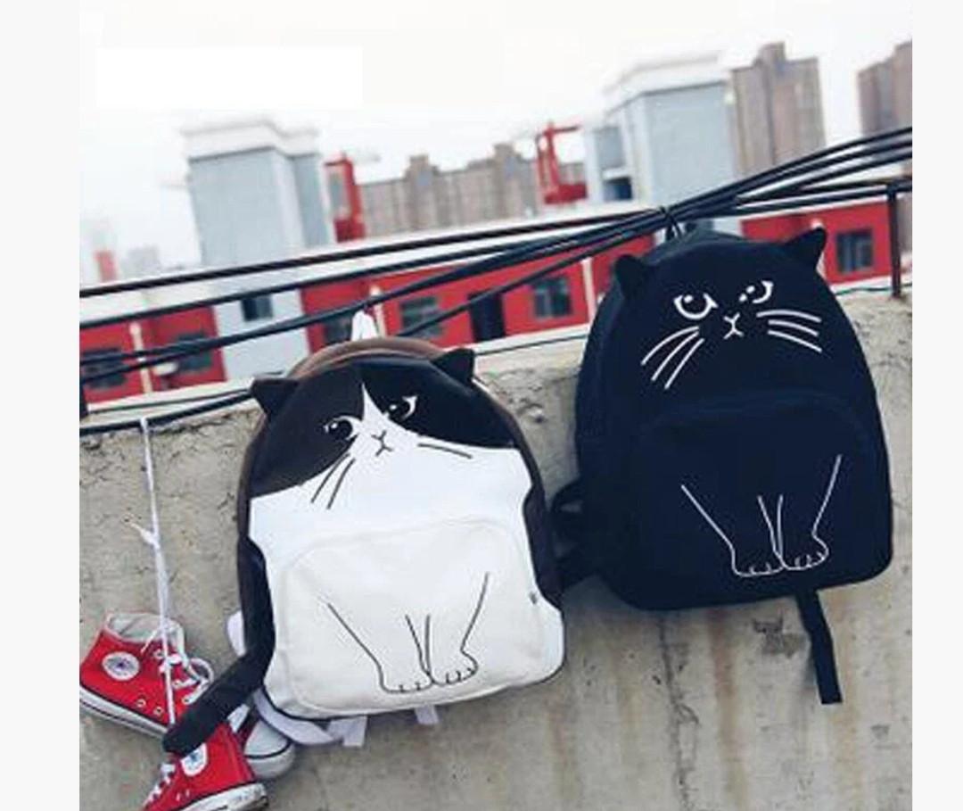 Рюкзак з модним принтом