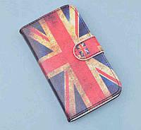 Чехол-бумажник с рисунком для Fly IQ456 Era Life 2