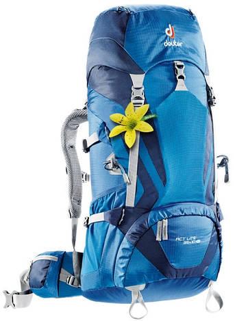 Треккинговый рюкзак для женщин Deuter ACT Lite 35+10 SL steel/navy (3340015 3130)