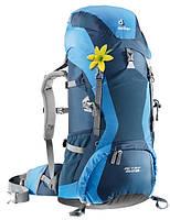 Треккинговый рюкзак для женщин Deuter ACT Lite 35+10 SL midnight/coolblue (33720 3303)