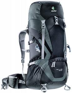 Треккинговый рюкзак Deuter ACT Lite 40+10 black/granite (3340115 7410)