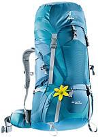 Треккинговый рюкзак для женщин Deuter ACT Lite 60+10 SL arctic/denim (4340015 3318)