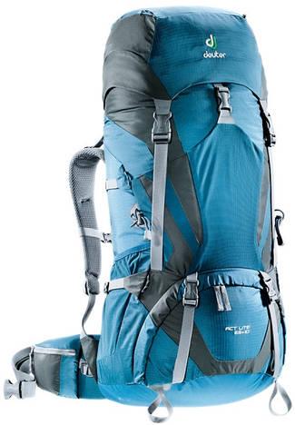 Треккинговый рюкзак Deuter ACT Lite 65+10 arctic/granite (4340115 3428)
