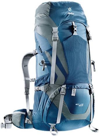 Треккинговый рюкзак Deuter ACT Lite 75+10 midnight/granite (4340315 3473)