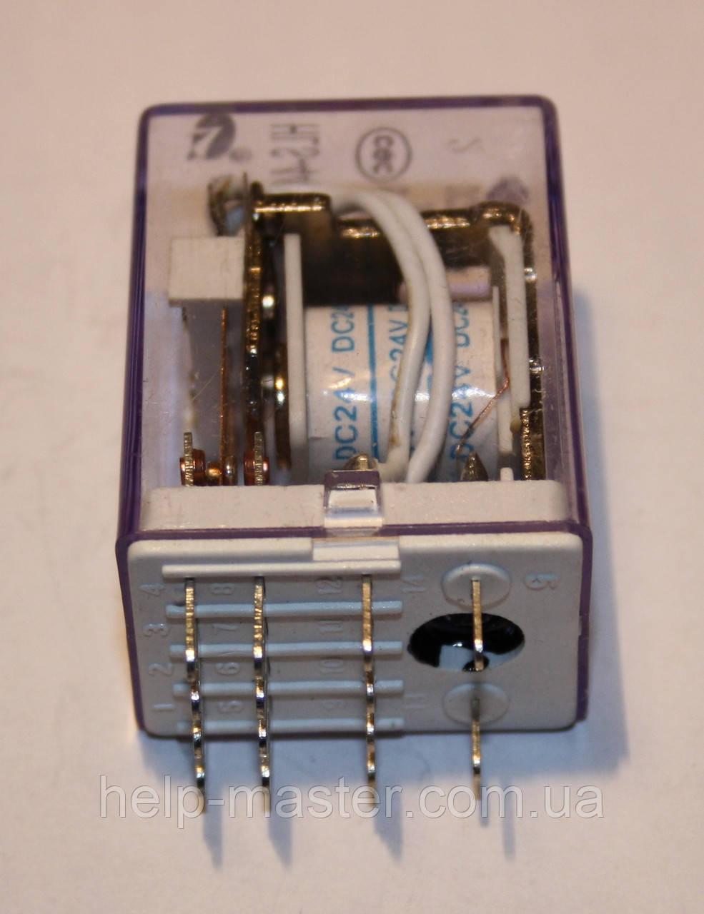 Реле электромеханическое  HLS-4453(18F);  24VDC