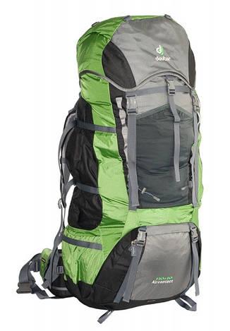 Треккинговый рюкзак Deuter Aircontact 110+10 granite/emerald (43452 4224)