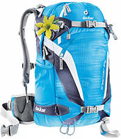 Рюкзак для фрирайда женский Deuter Freerider 24 SL turquoise/blueberry (33504 3315)