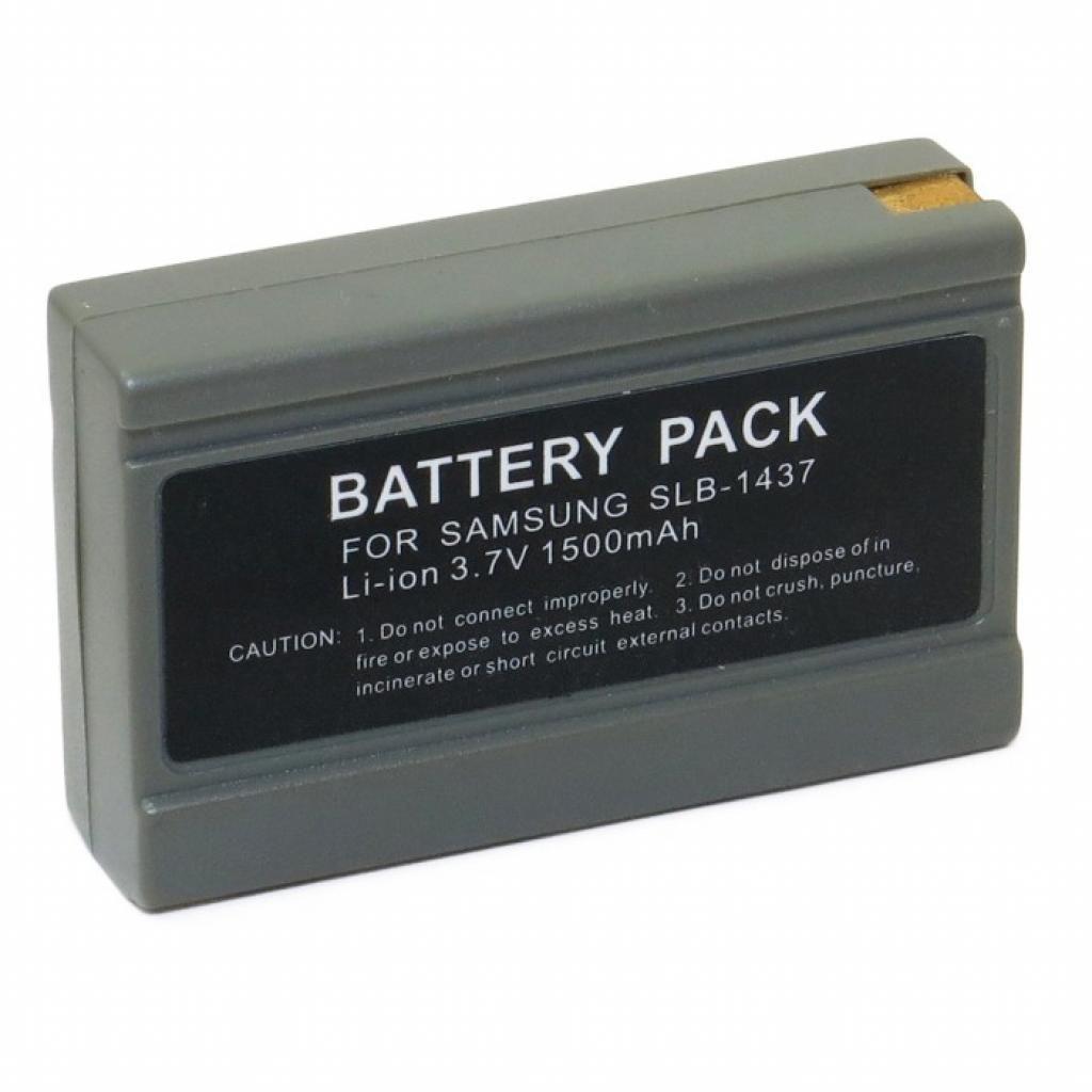 Аккумулятор для фотоаппарата Samsung SLB-1437 (1560 mAh)