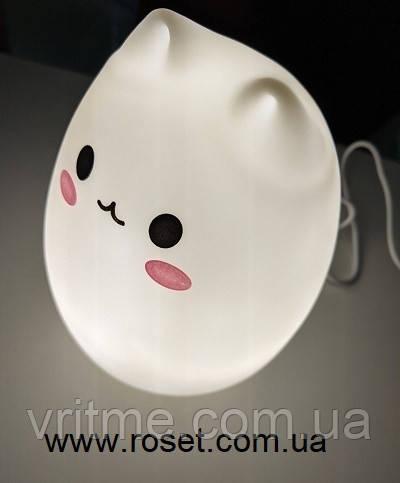 Ночной светильник LED силиконовый Котик