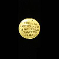 Дукат из золота Рейна 1803 №242 копия, фото 1