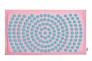 Коврик акупунктурный IGORA MAT 80х45 (розовый лен), фото 3