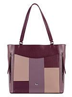 Стильна жіноча шкіряна сумка в 3х кольорах L-DA82625