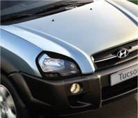 Защита на фары Hyundai Tucson (2004-)