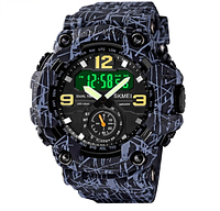 Часы наручные электронные Skmei 1637 Black and gray