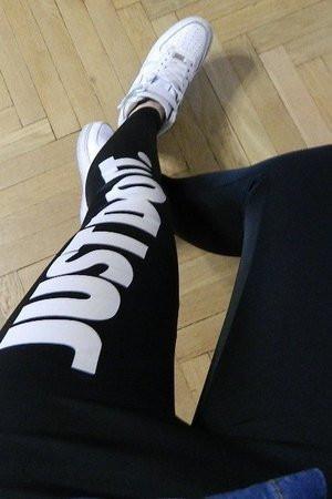 Лосіни спортивні жіночі чорні just do it