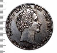Талер 1836 в честь открытия капеллы Отто №246 копия