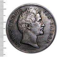 Талер 1834 Ландтаг Бавария копия монеты в серебре №247 копия