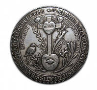 1670 союзный талер Шварцбург - Рудольштадт мемориал №248 копия