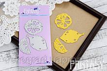 Ножи для вырубки Fantasy «Лимоны 3 шт» размер 7,4*6,7 см