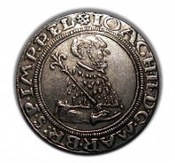 Монета 1541 года MOИ ИOVA PRИ EL EG BRAИS №249 копия