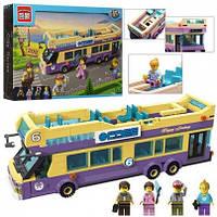 Конструктор  двухэтажный автобус 455 деталей