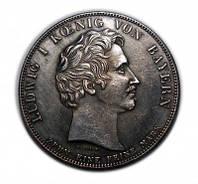 Талер 1827 орден Терезы копия монеты в серебре №250 копия