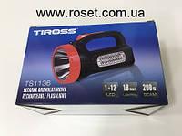 Ліхтар акумуляторний діодний Tiross TS 1136, фото 1