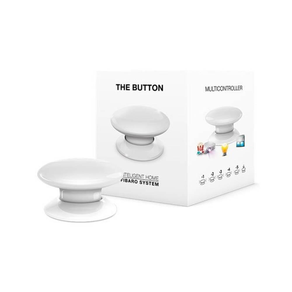 Кнопка управління Z-Wave Fibaro The Button white - FGPB-101-1