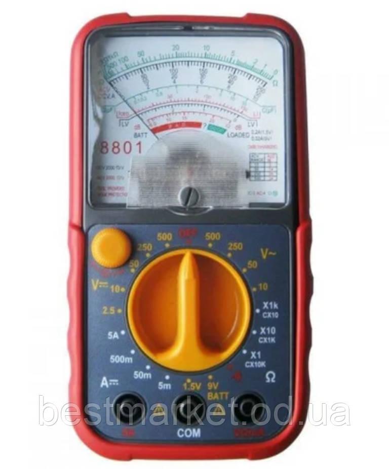 Мультиметр Тестер Аналоговий 8801