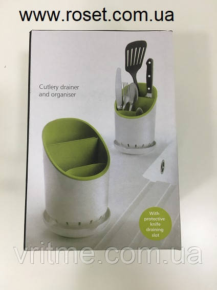 Подставка для кухонных приборов, принадлежностей Cutlery Drainer and Organizer