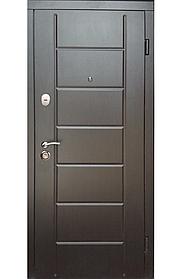 """Входные двери """"Редфорт (Redfort)  Канзас Стандарт+"""" МДФ венге в квартиру"""