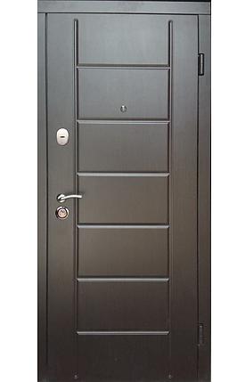 """Входные двери """"Редфорт (Redfort)  Канзас Стандарт+"""" МДФ венге в квартиру, фото 2"""