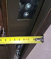 """Входные двери """"Редфорт (Redfort)  Канзас Стандарт+"""" МДФ венге в квартиру, фото 3"""