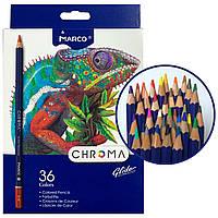 Карандаши цветные MARCO CHROMA 36 цветов