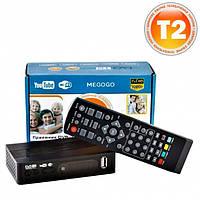 Ресивер цифрового телевидения MEGOGO 169 Т2 приемник тюнер приставка с поддержкой DVB-T2 DVB-T и DVB-C
