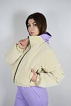 Куртка короткая Stimma 06678 M Кремовый