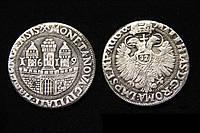 Талер 1619 года Германия Гамбург №261 копия, фото 1